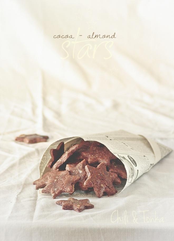 Cocoa - almond stars 1 Chili & Tonka