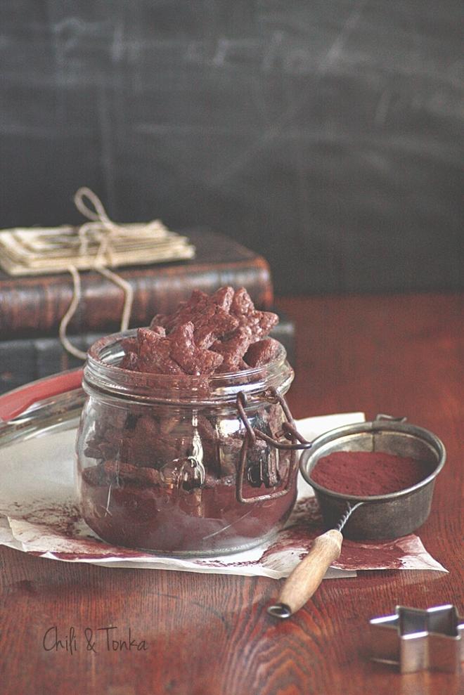 Cocoa - almond stars 4 Chili & Tonka