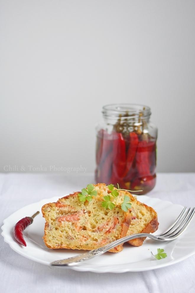Ciasto z łososiem i chili 2 from Chili & Tonka