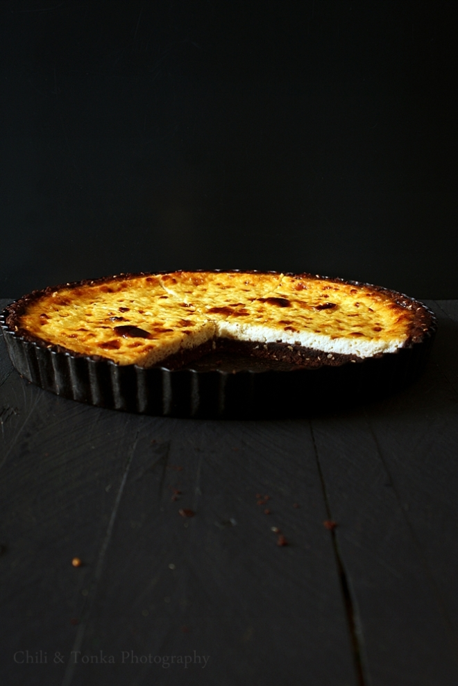 Cocoa and ricotta tart 2 Chili & Tonka