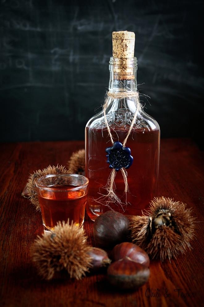 Liqueur de châtaignes Chili & Tonka