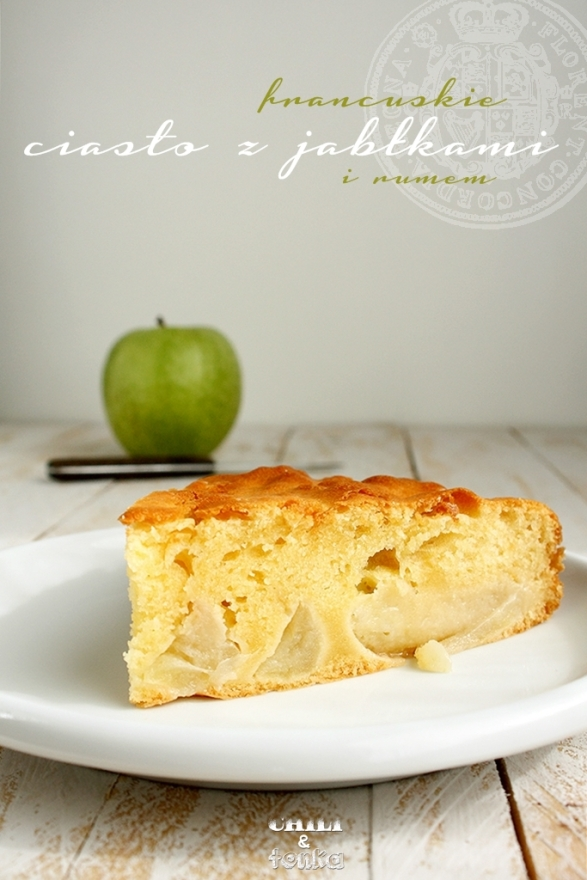 French apple cake from Chili & Tonka