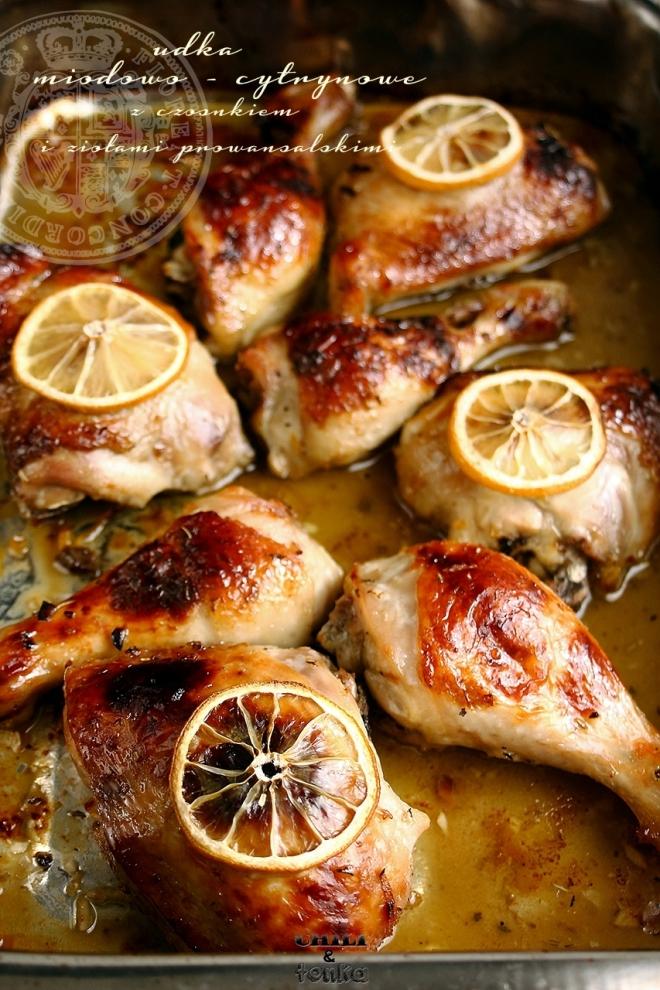 Kurczak cytrynowo - miodowy Chili & Tonka 1