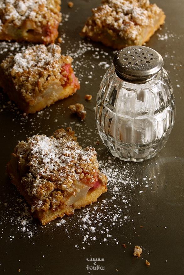 Ciasto z rabarbarem / Chili & Tonka