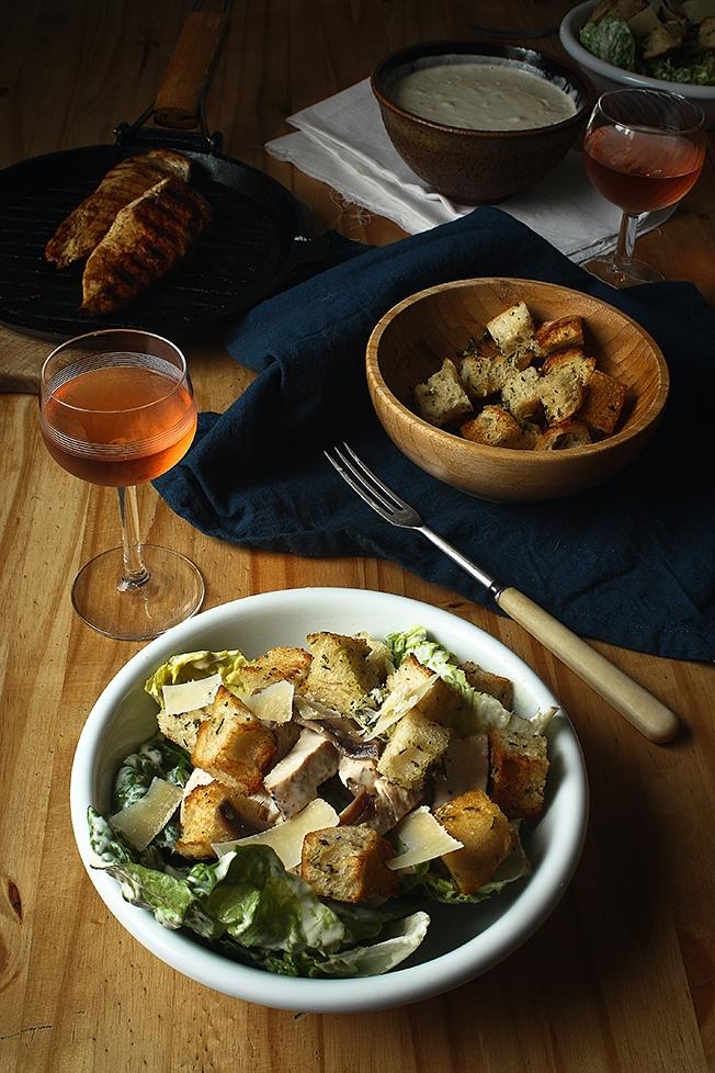 Grilled chicken Caesar salad 2 CT