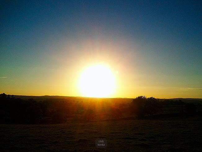 Zachód słońca 1 CT
