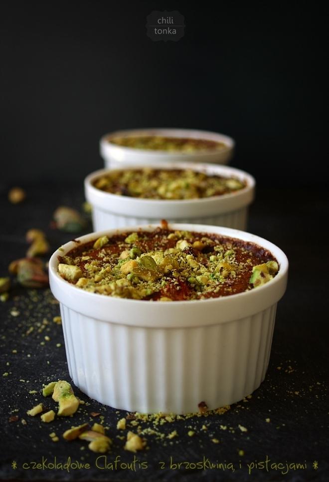 Clafoutis choco pistachio