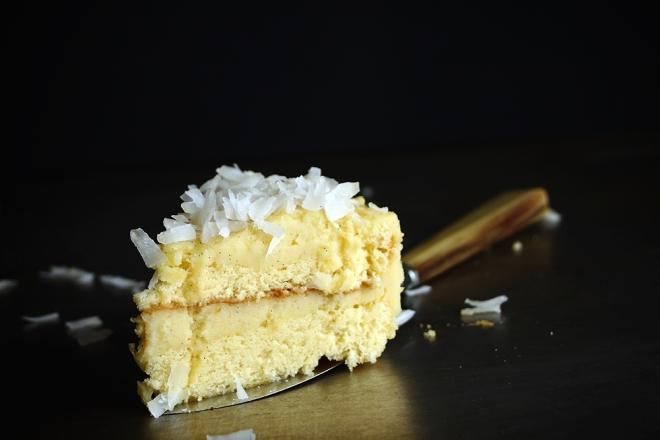 Torcik kokosowy