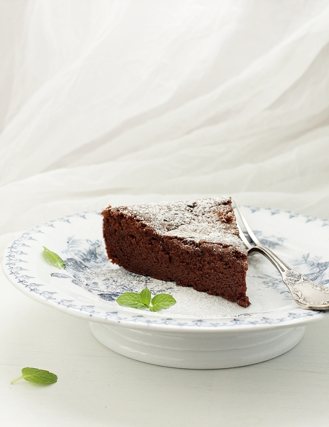 Flourless chocolate chestnut cake | chilitonka