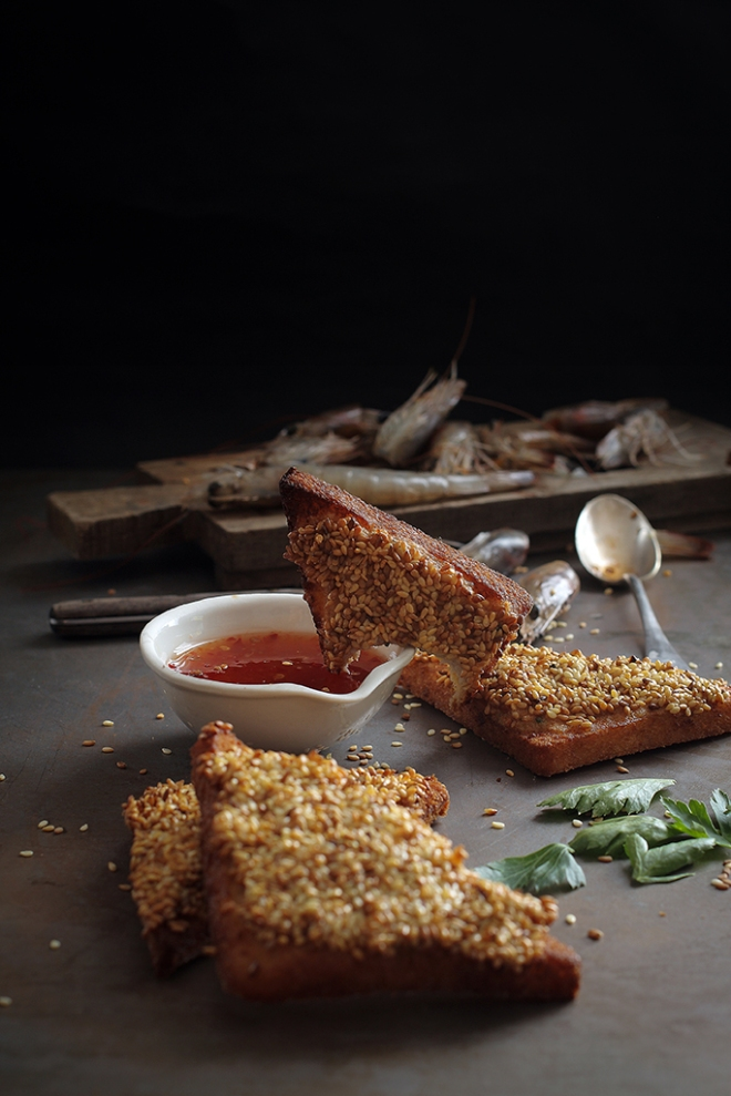 Prawn toasts | chilitonka