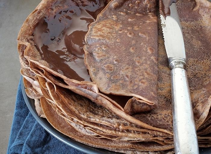 Naleśniki niezmiernie czekoladowe