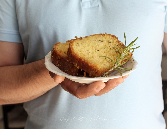 Rosemary lemon cake | chilitonka