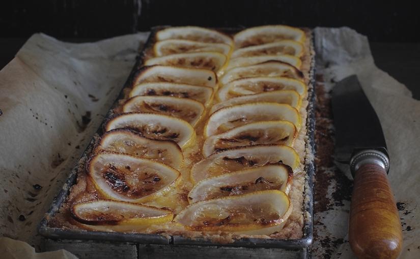 Rustykalna tarta cytrynowa