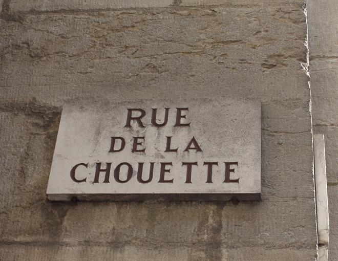 Rue de la Chouette Dijon | chilitonka