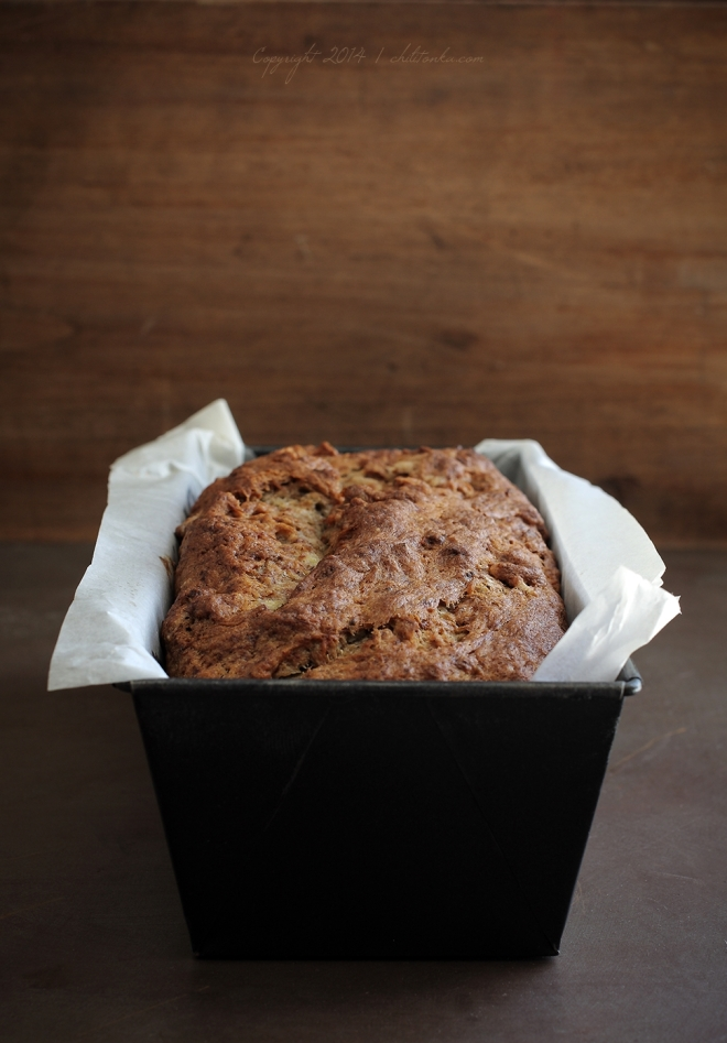 Banana & chia bread | chilitonka