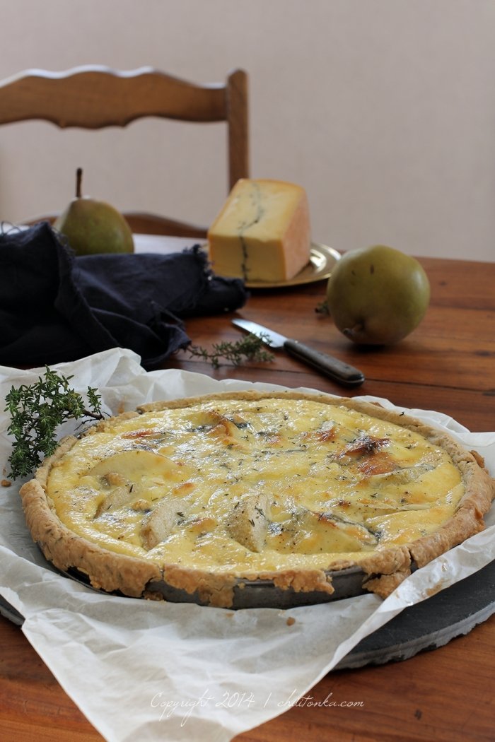 Morbier & Pear tart | chilitonka