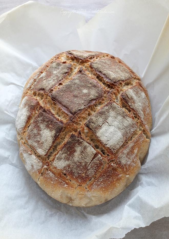 Chleb pszenny na zakwasie | chilitonka