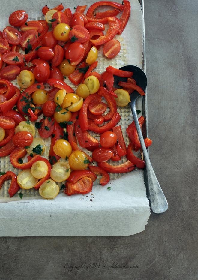 Pieczone pomidorki | chilitonka