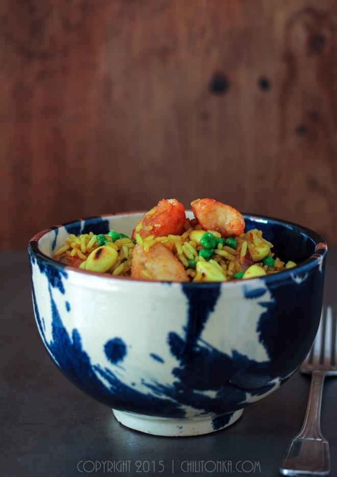 Ryż z żabnicą | chilitonka