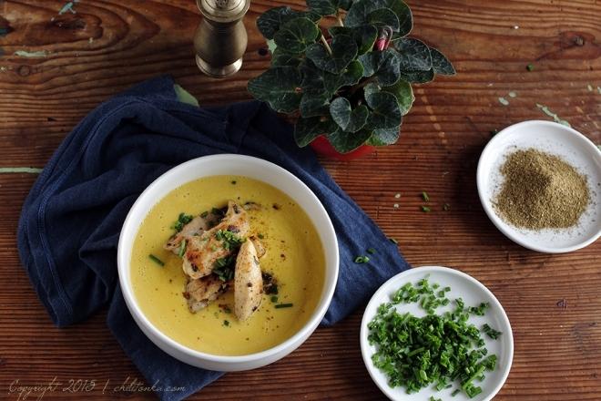 Zupa kukurydziana z kurczakiemCT