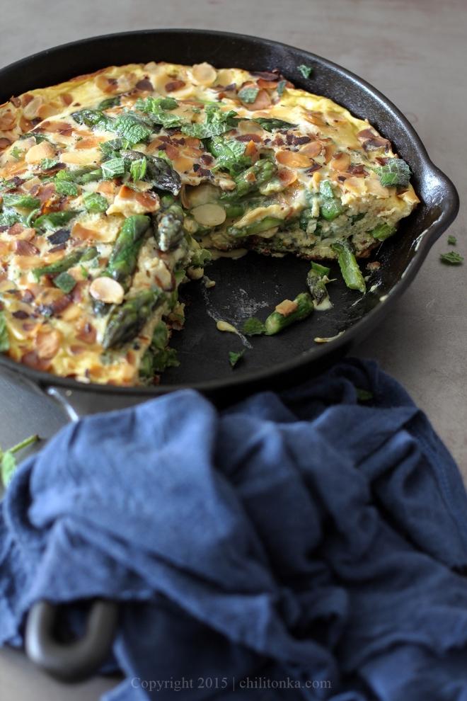 Tortilla ze szparagami | chilitonka