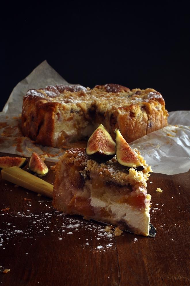 Ciasto z figami | monika domańska