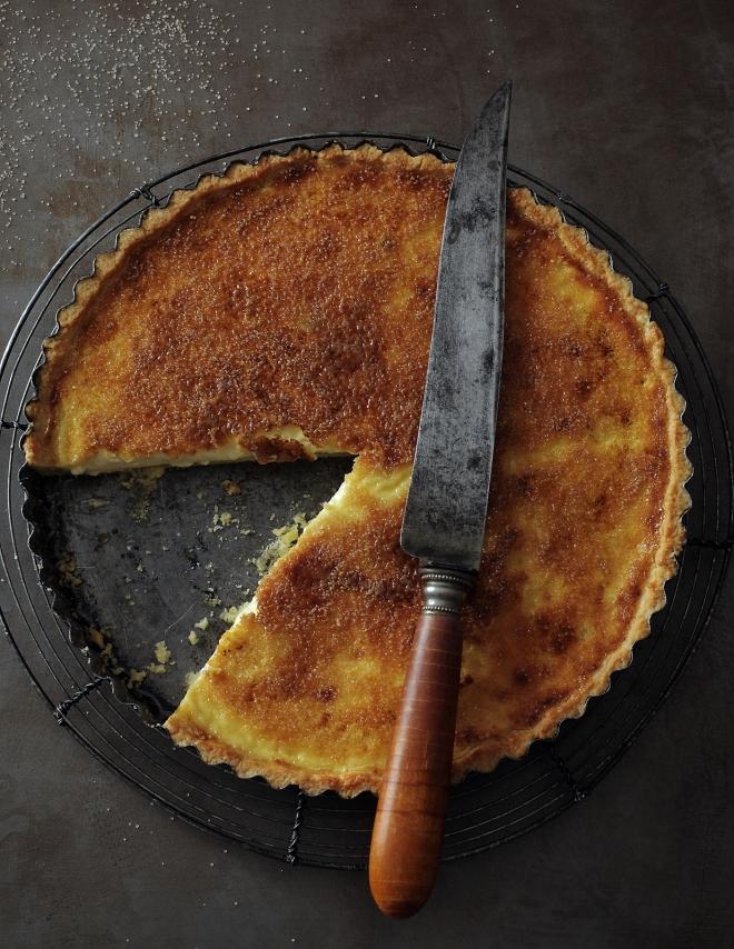 Creme brulee tart | monika domańska