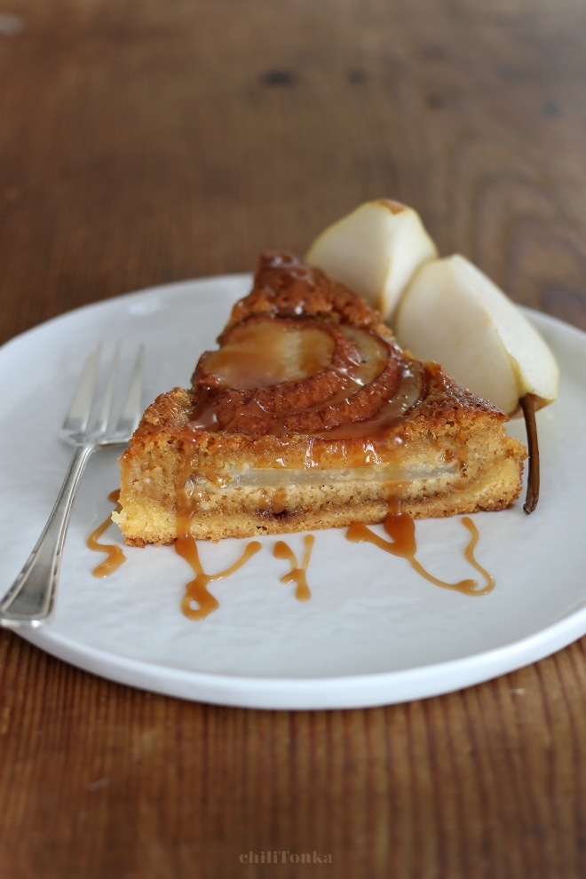 Tarte amandine aux poires | chilitonka