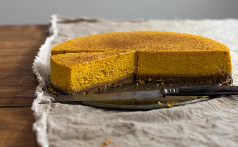 Sernik dyniowy / Pumpkincheesecake