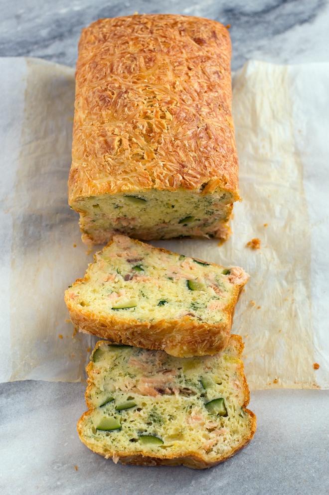 Ciasto z łososiem i cukinią | chilitonka