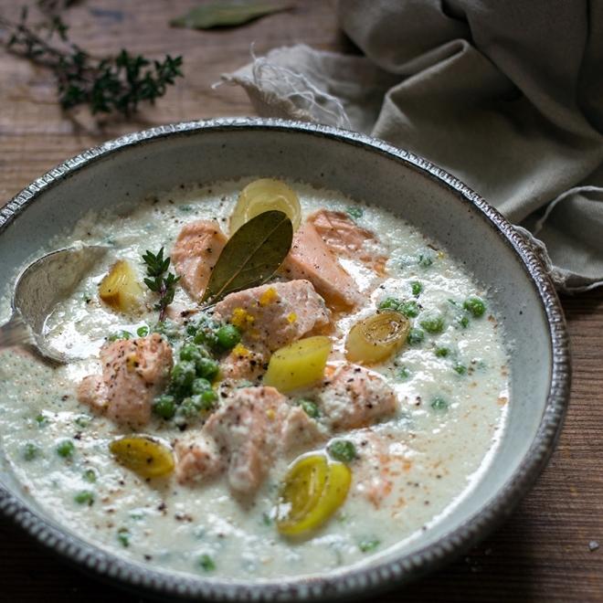 Zupa rybna z mleczkiem kokosowym | chilitonka