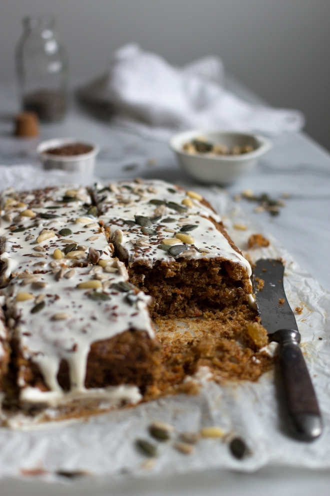 Carrot cake with grains | chilitonka