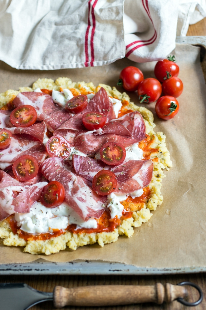 Polenta pizza | chilitonka
