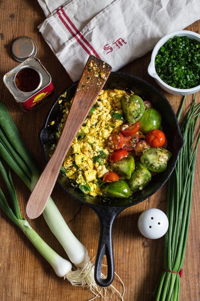 Wegańska jajecznica | chilitonka
