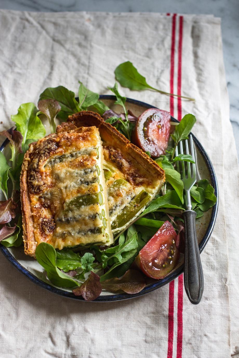 Asparagus and Parmesan tart | chilitonka