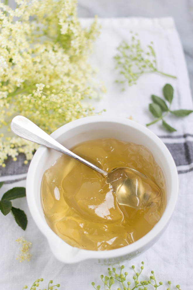 Elderflower jelly | chilitonka