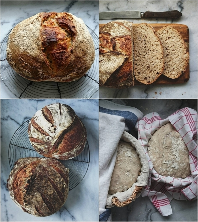Tartine breads from Instagram