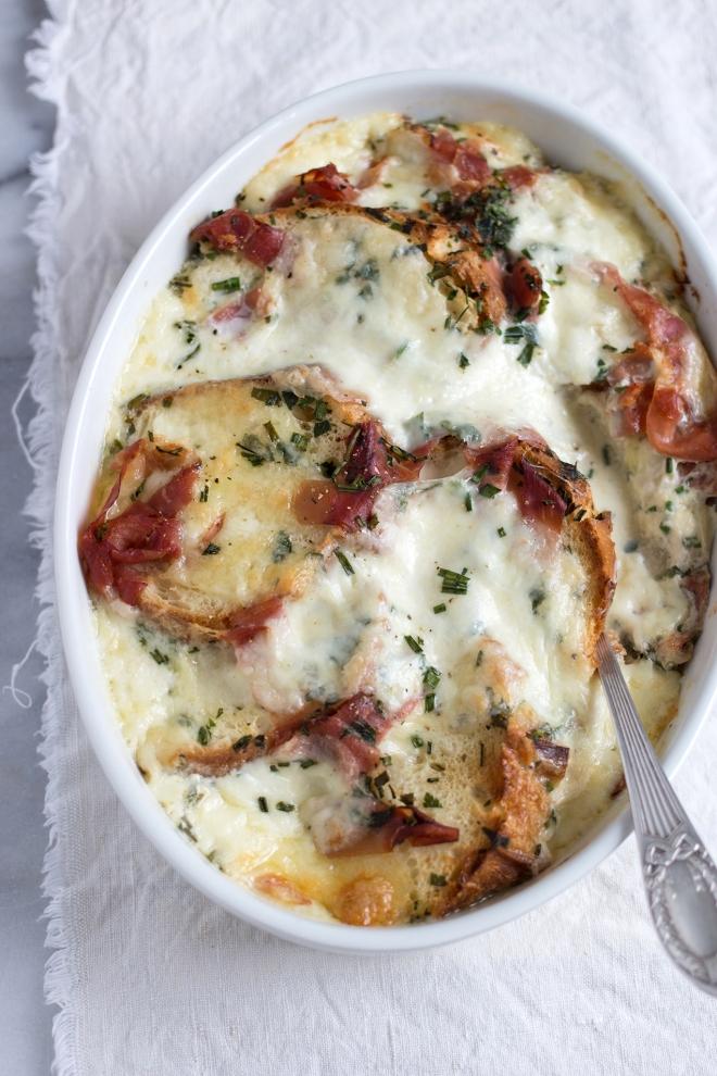 Pain perdu jambon mozzarella | chilitonka