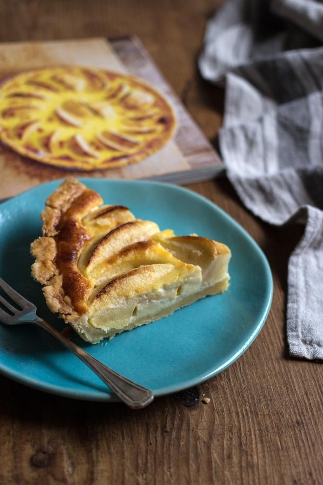 Normandzka tarta z jabłkami | chilitonka
