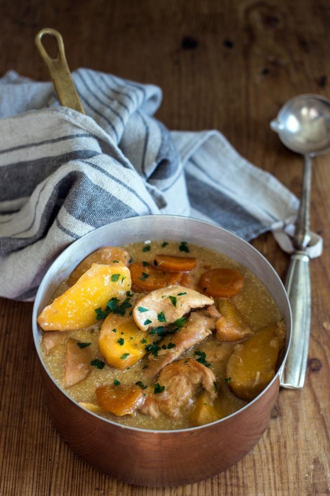 Kurczak slodko-kwasny z kaki | chilitonka